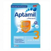 德国爱他美/Aptamil 婴幼儿配方奶粉3段(10-12个月 ) 1200g