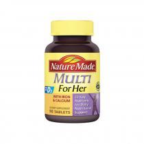 美国Nature Made女性复合维生素综合矿物质90粒