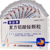 步長 奧達 得必泰 復方鋁酸鉍顆粒 1.3g*18袋/盒