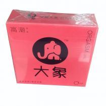 天然胶乳橡胶避孕套(大象高潮女生)2只