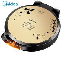 美的(Midea)電餅鐺家用早餐機機械版煎烤機大烤盤烙餅機MC-JHN34Q