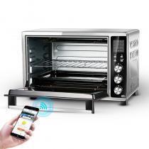 九陽(Joyoung)電烤箱KX-35I6家用烘焙多功能全自動發酵35升/L大容量 黑色