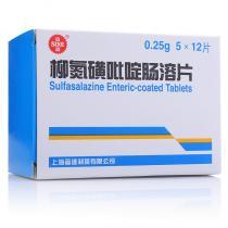 信谊柳氮磺吡啶肠溶片60片