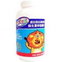 成长快乐牌多种维生素锌咀嚼片180g(1.5g*120片)